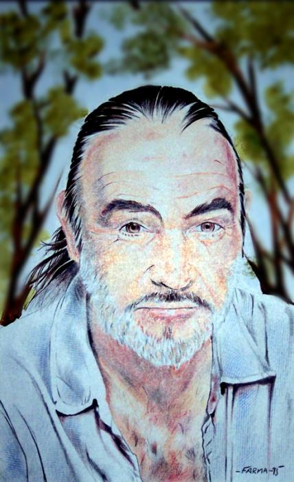Sean Connery par Colorfarma